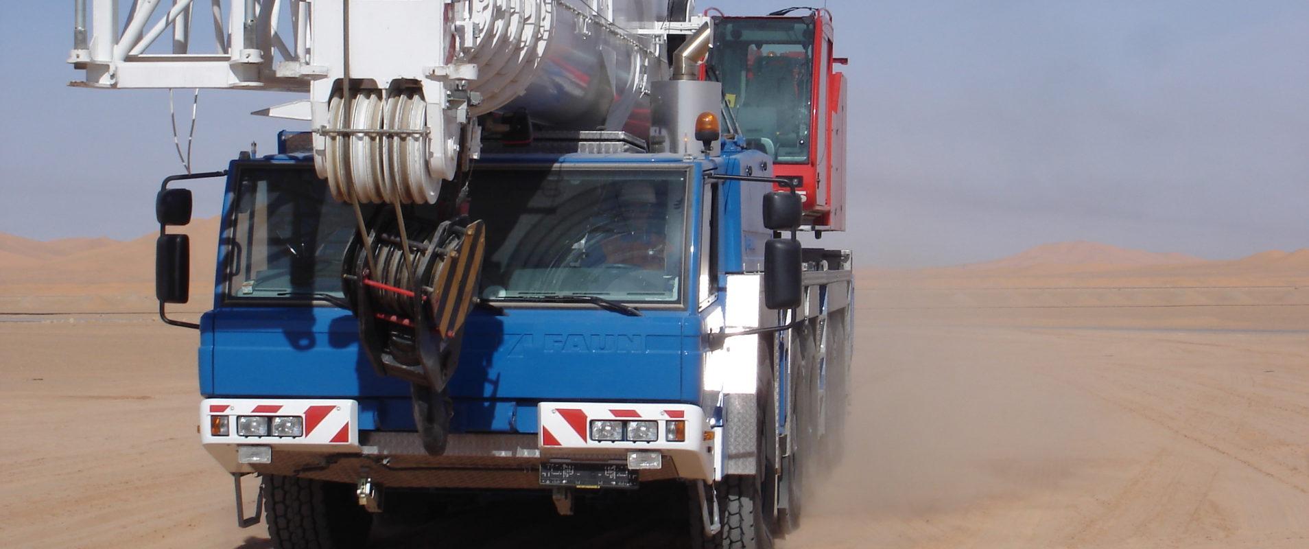 Einsatz im Algerien mit M.S. Schuch GmbH & Co. KG